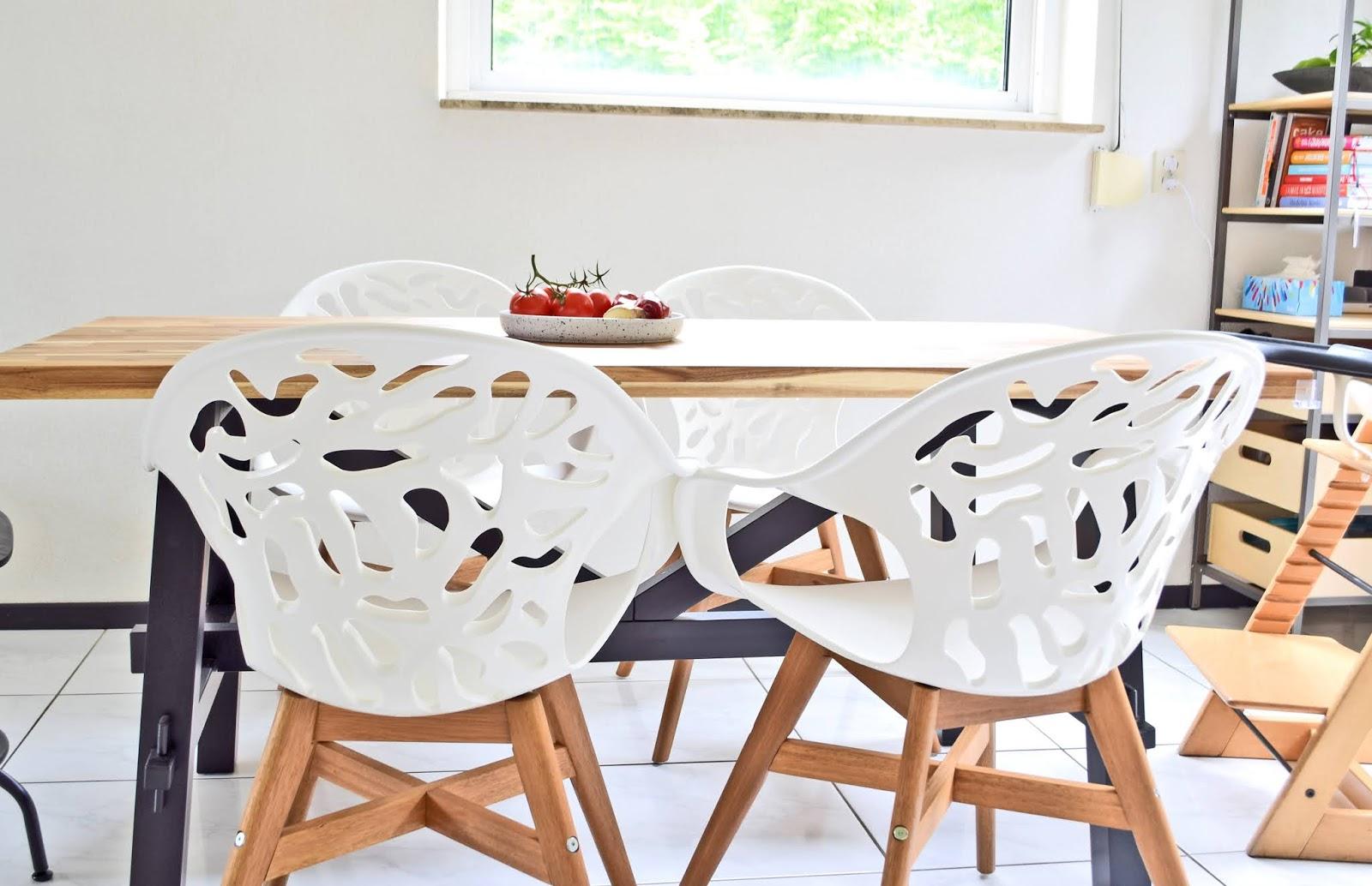 Krzesła do jadalni, z ikei.