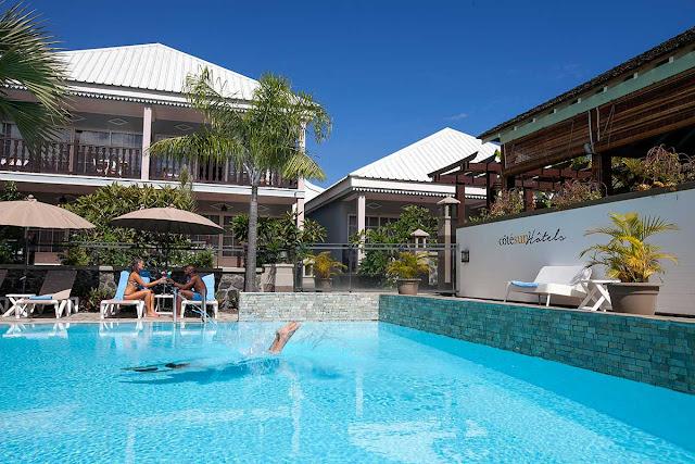 Piscine hotel Saint Alexis et Spa à la Réunion