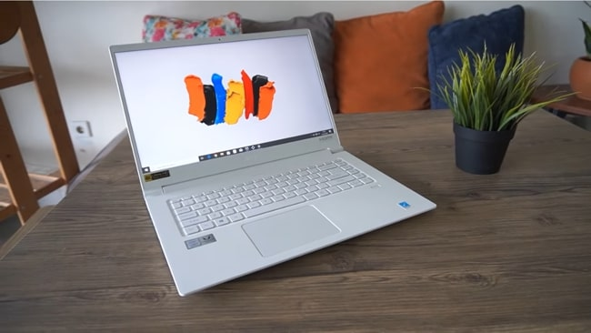 Acer ConceptD 5 CN515-51 - The powerful lightweight machine with brighter and good color gamut display for CSE students.
