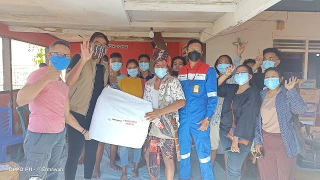 Pertamina Foundation Salurkan Bantuan untuk Pemulihan Korban Banjir Bandang NTT