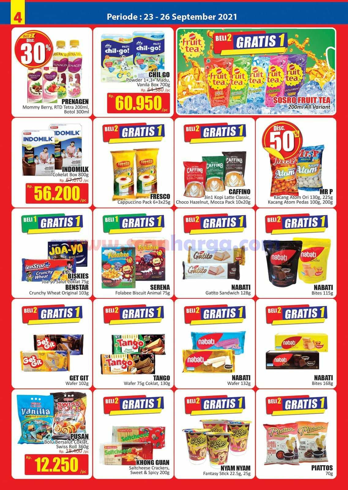 Katalog Promo JSM Hari Hari Swalayan Weekend 23 - 26 September 2021 5