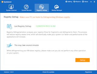 تنزيل برنامج الصيانة للكمبيوتر Systimizer