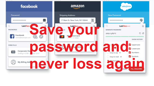 Keep your passwords secure and there will be no problem now if you forget your password