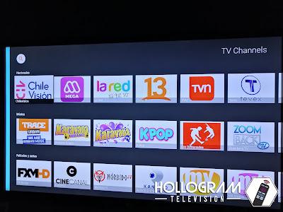 Lista de Canales Roku MiPlay.cl