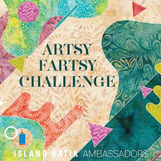 Artsy Fartsy July 2019 Island Batik Ambassador Challenge