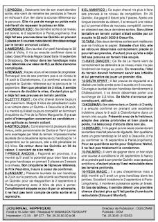 programme quinté Pronostic jeudi 07/10/2021