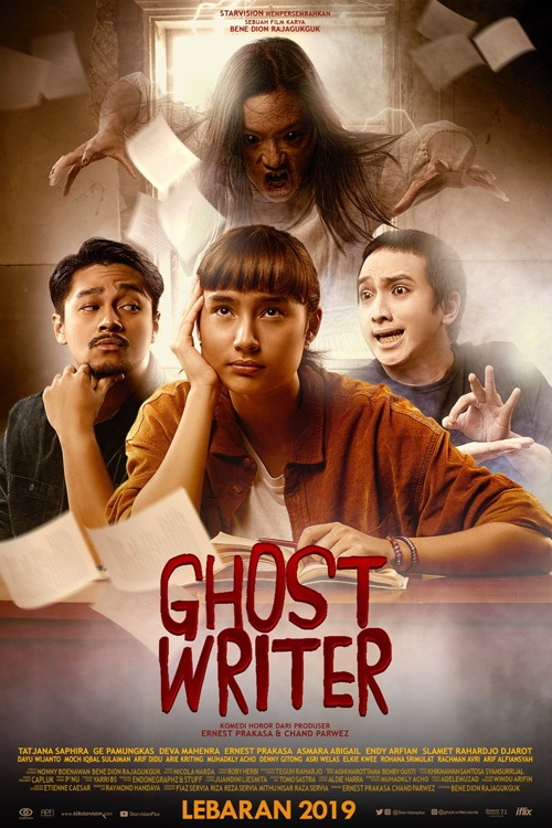 Download Film Ghost Writer (2019) Full Movie Indonesia