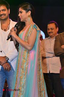 Actress Naina Ganguly Stills in Long Dress at Vangaveeti Audio Launch  0026.JPG