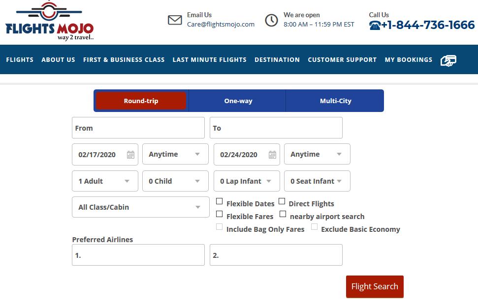 Find flights at Flight Mojo! Find domestic and international flights at Flight Mojo in minutes! :