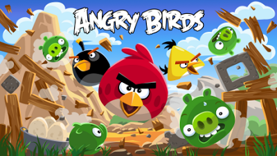 Serial Angry Birds Live in TV on March