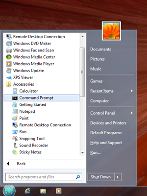 برنامج Classic Shell Start menu