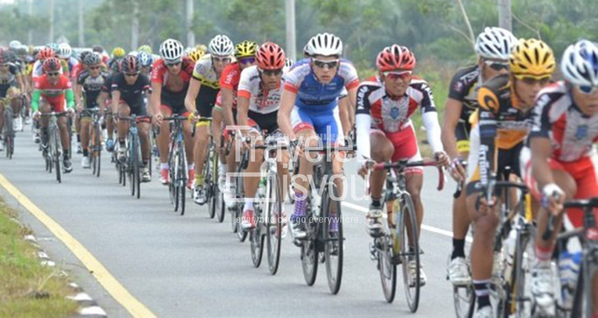 Event Tour de Siak is a tourism promotion by the government of Sri Indrapura District. The annual event is very much anticipated, not only locally, but also overseas travel. This event is very interesting in the country and abroad to come to be participants.