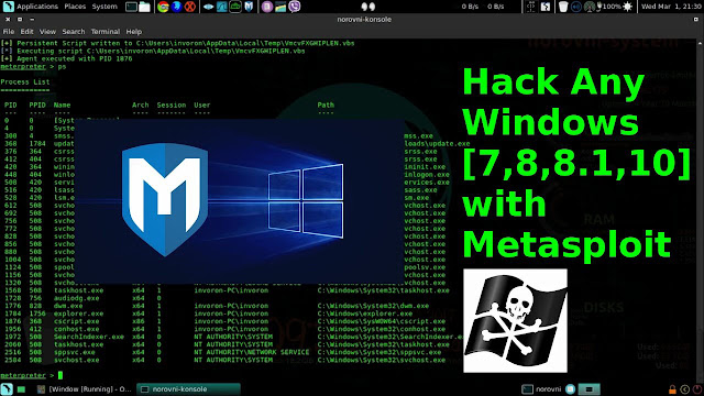 How To Hack Windows PC Using Kali Linux and Metasploit