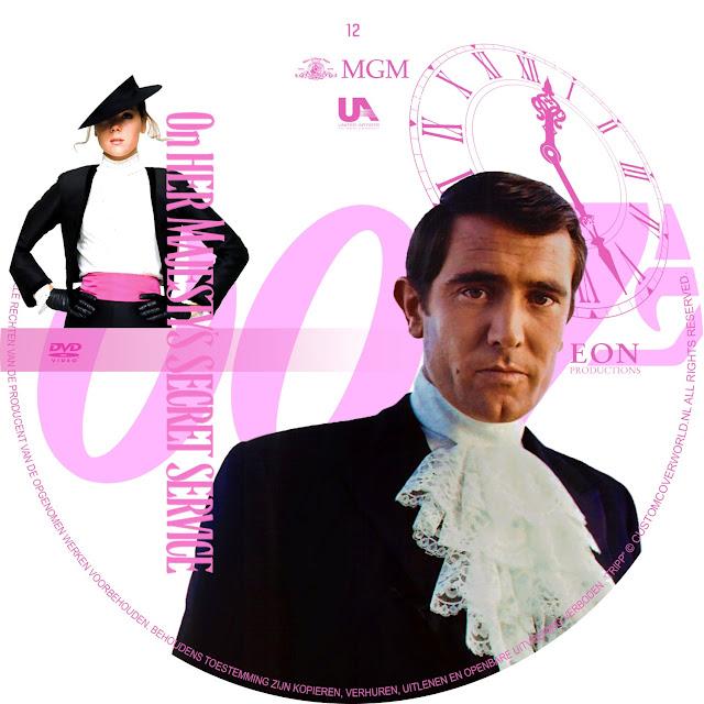 Label DVD 007 On Her Majestys Secret Service