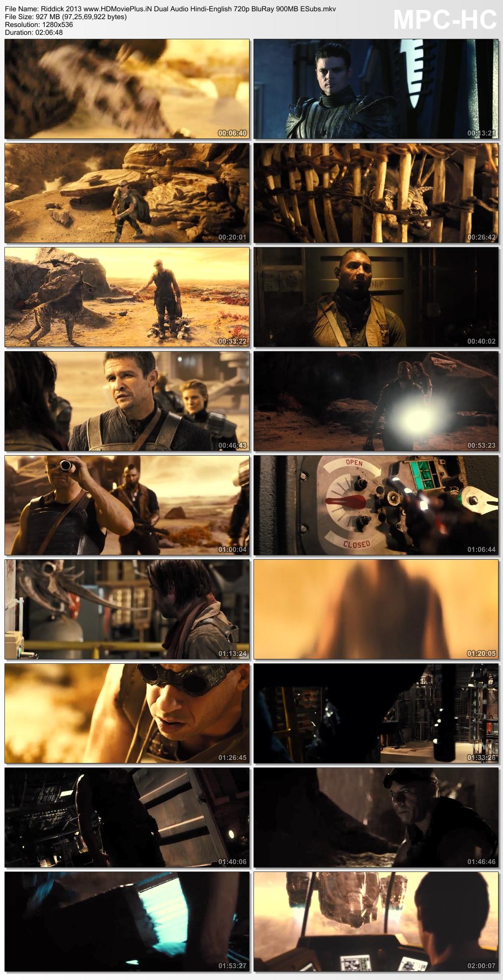 Riddick 2013 Dual Audio