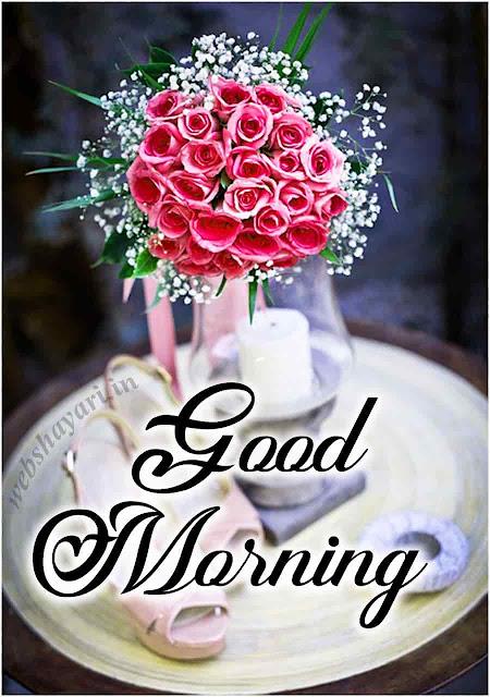 गुड मॉर्निंग गुलाब का फूल image wallaper download