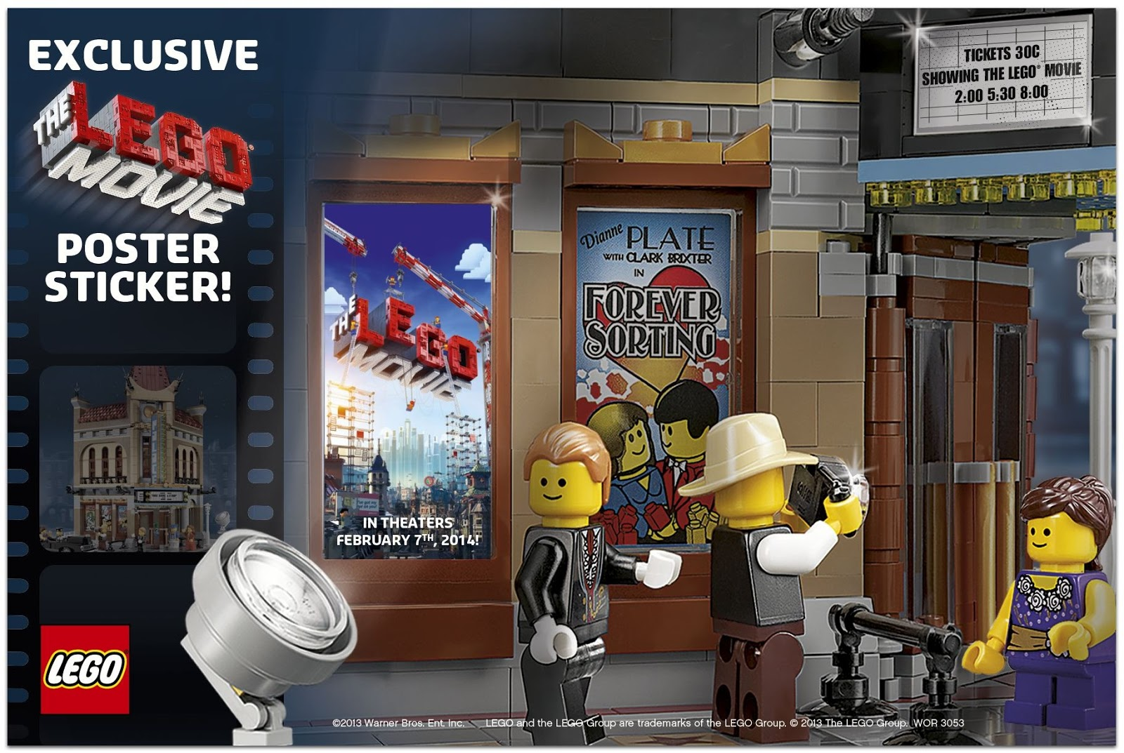 the brickverse lego movie news. Black Bedroom Furniture Sets. Home Design Ideas