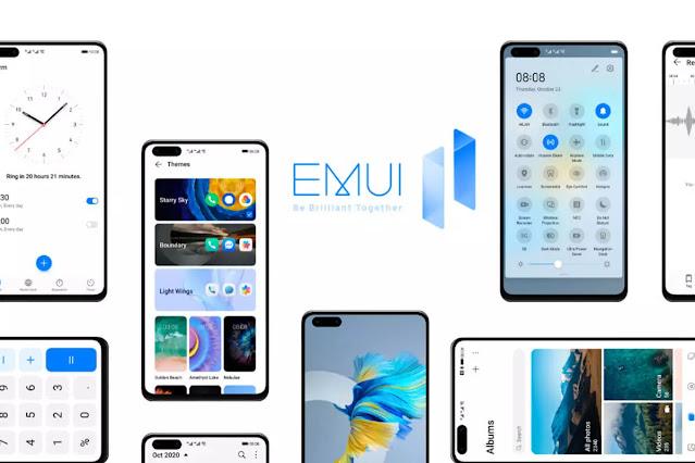 هواوي تعلن عن الهواتف التي سيتم تحديثها إلى EMUI 11 قبل نهاية العام