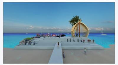 Desain Kawasan Pantai Kelapa Lima