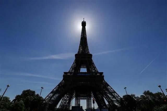 Eiffel Tower in Paris, France, June 13, 2021. Photo: AFP