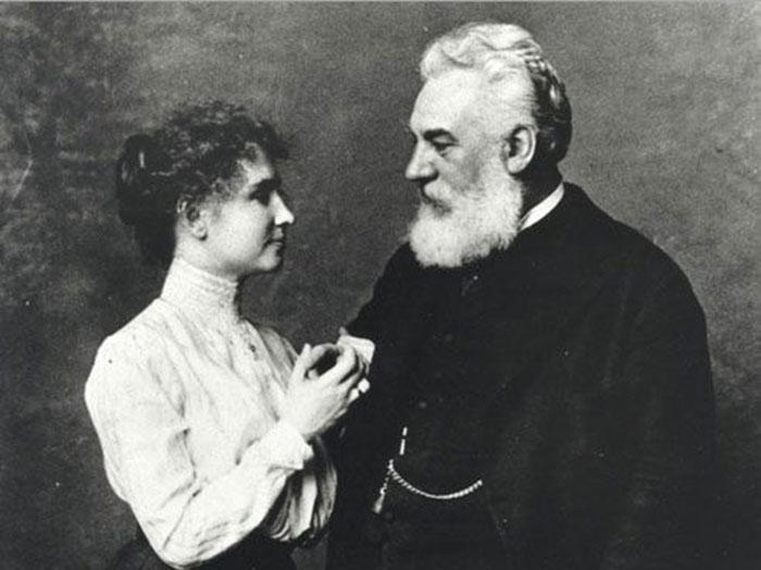 Helen Keller dan Graham Bells