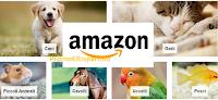 Logo Amazon : nuovo negozio per animali domestici e partecipa alla selezione Pet Star