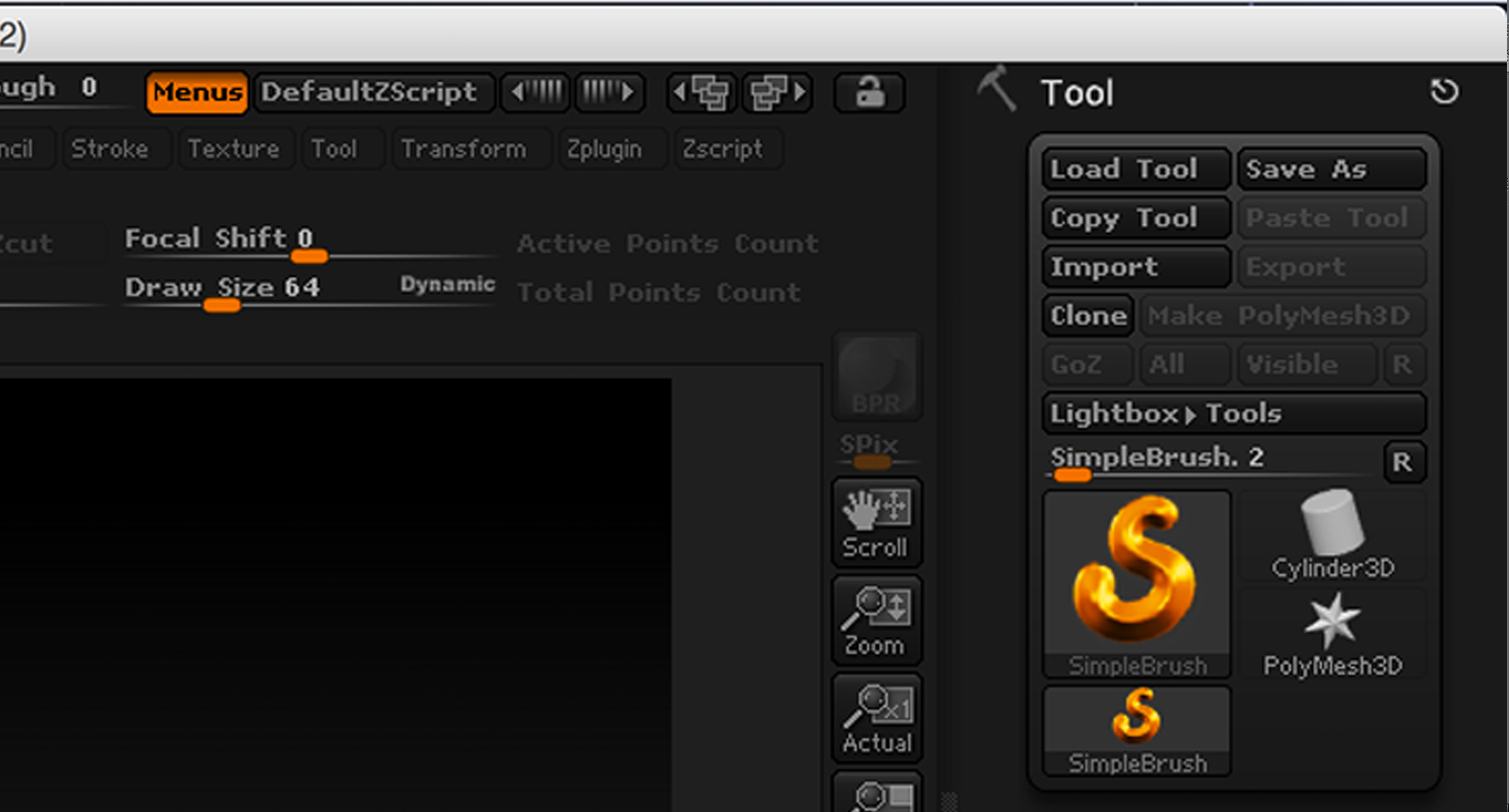 ZBrush - Import OBJ and Splitting into separate Sub Tools | Import