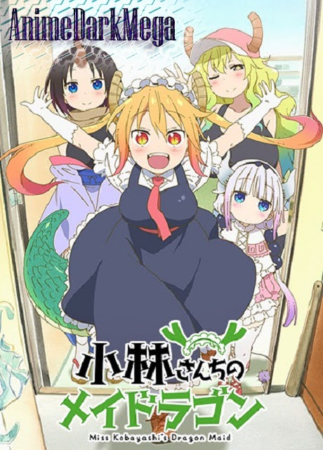 [AnimeDarkMega] Descargar Kobayashi-san Chi no Maid Dragon [13/13] por Mega