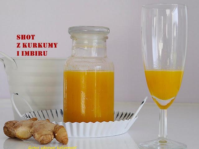 Shot z kurkumy i imbiru - mikstura na odporność i przeziębienie  - Czytaj więcej »