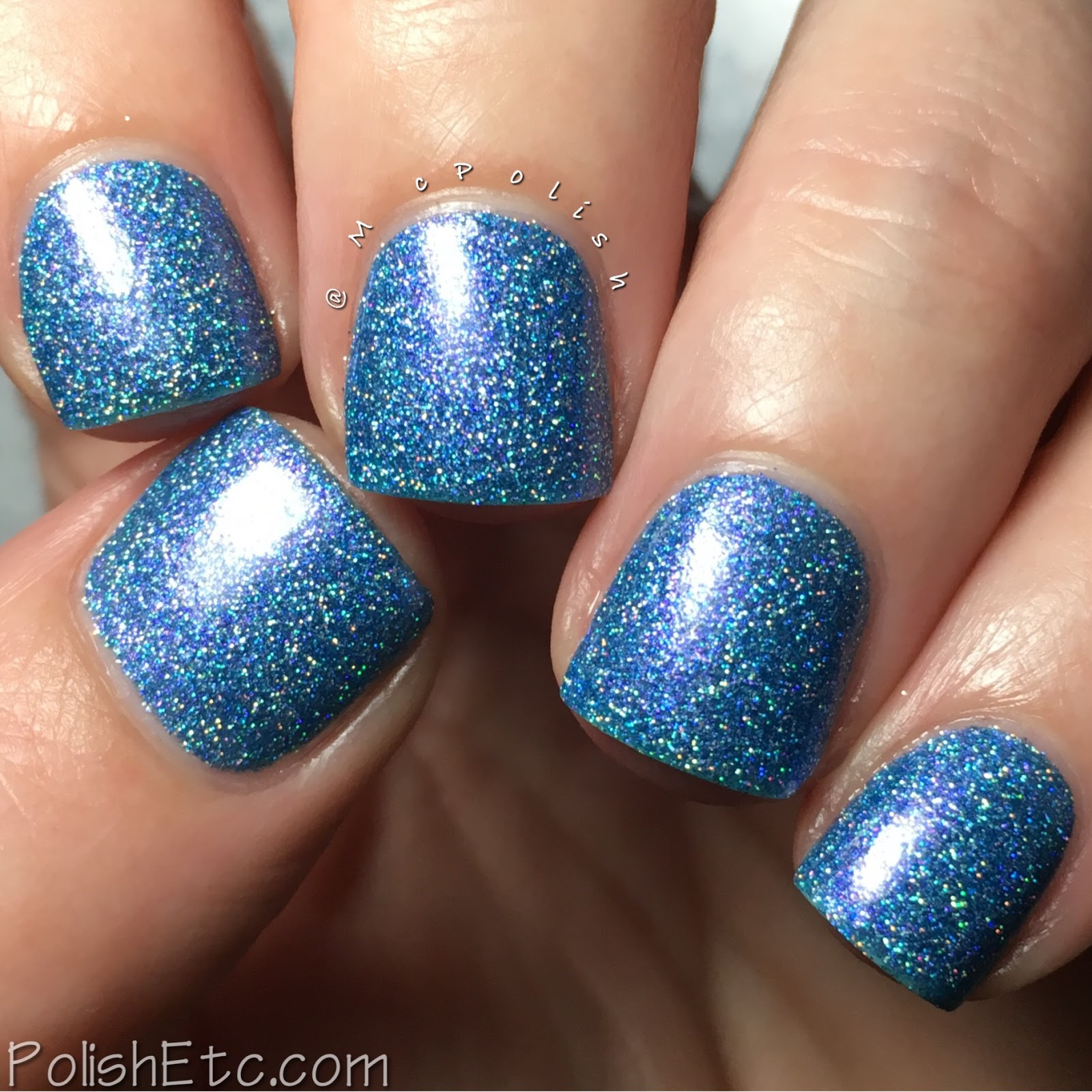 Nine Zero Lacquer - Valentine's Day Trio - McPolish - A Night Out