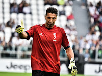 Gianluigi Buffon's Expressions After the History Print