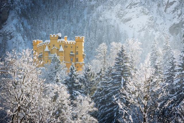 Бавария: страна красивых замков, дворцов и крепостей - Замок Хоэншвангау
