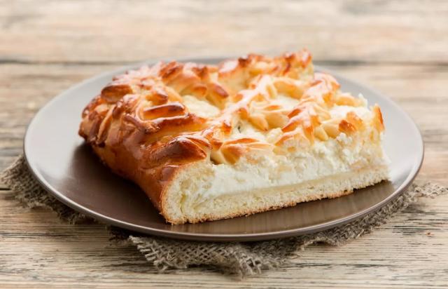 старинный рецепт пирога с творогом