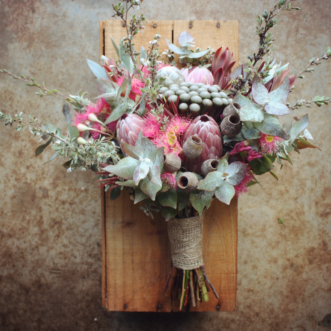 Wedding Flower Bouquets Ideas: Swallows Nest Farm: DIY Bush Wedding In March