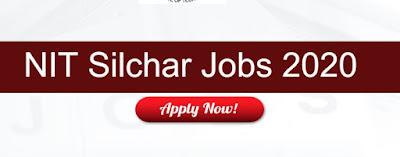 NIT Silchar Sarkari Naukri In Assam 2020 : Recruitment for Project Associate-I Vacancies - Apply Now On Sarkari Jobs Adda