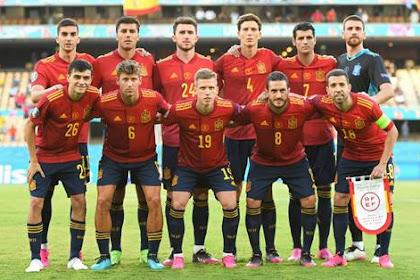 Daftar Skuad Pemain Timnas Spanyol Terbaru [EURO 2021]