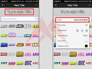 Cara Mudah Menambah Font di Aplikasi Pixellab, Picsay Pro, dan Ivy Draw