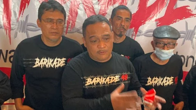 Sebut HTI dan Cendana, Loyalis Jokowi Bentuk Barikade 98 Antisipasi Upaya Kudeta Pemerintah