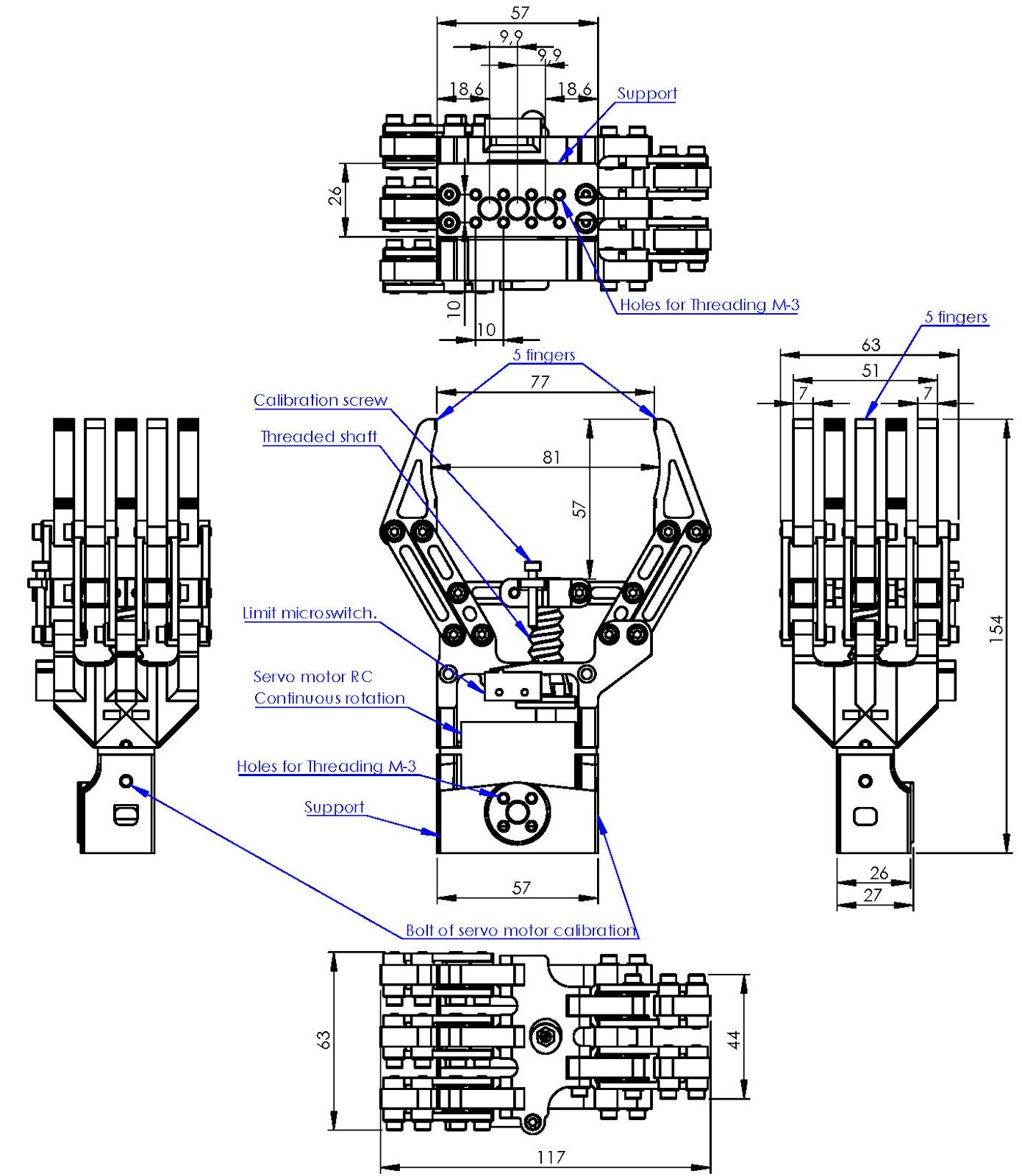 Andromina Robot V 2 0 Pinza Robotica Y Arduino Tutorial