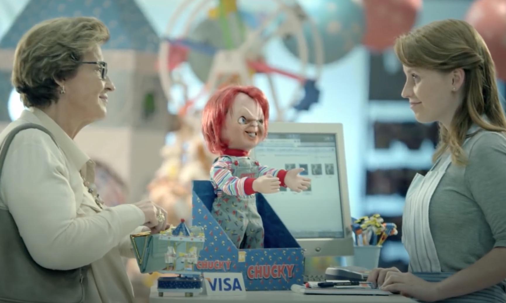 Campanhas publicitárias fazem uso de personagens de filmes de terror
