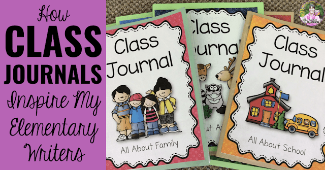 Do you struggle to keep your students writing during your Daily 5 rotations? Choice is a powerful motivator in an elementary classroom. Class Journals have excited and inspired my students to write. Read on to see the benefits!