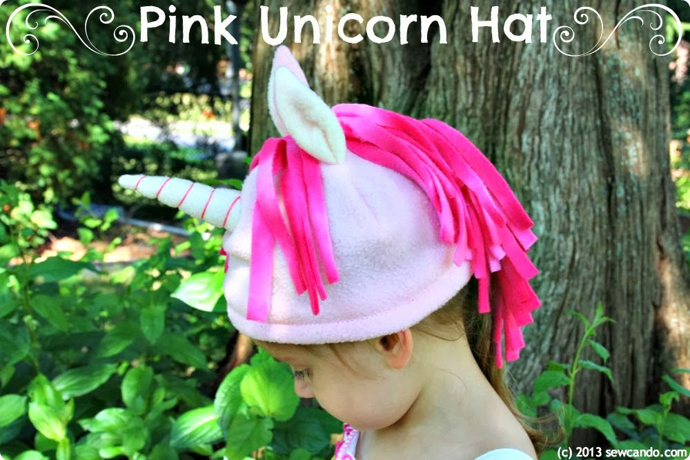3a8518d5065 Sew Can Do  My Little Pony Unicorn Hats   A Return To Hat Making