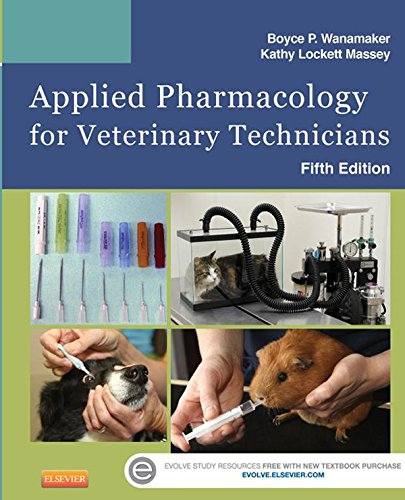 Applied pharmacology for veterinary technicians - WWW.VETBOOKSTORE.COM