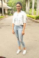 Rakul Preet Singh in Jeans and White Shirt At Jaya Janaki Nayaka le Logo Launch ~  Exclusive 044.JPG