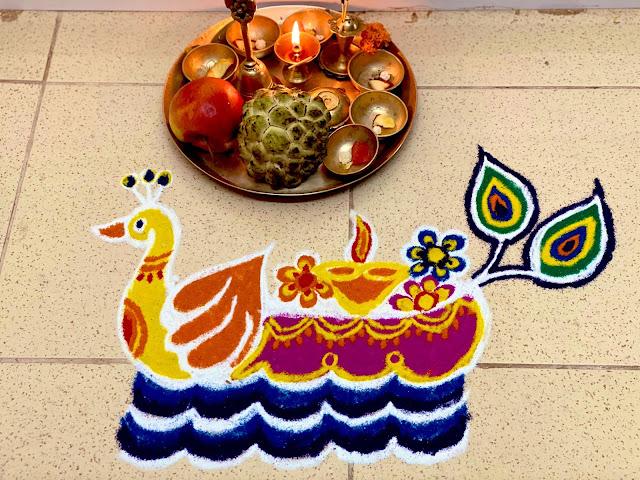 Best Muruja Rangoli with Boita Bandana for Balijatra and Prasad on Panchaka Purnima