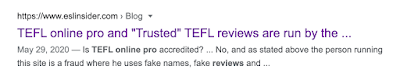 Is TEFL online pro accredited? ESLinsider Ian Patrick Leahy
