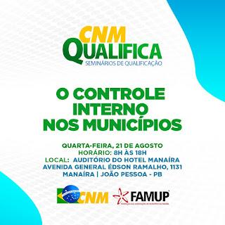 Famup e CNM realizam curso para prefeitos e servidores sobre controle interno