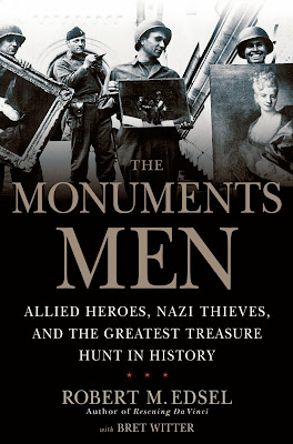 Poster Of Hollywood Film The Monuments Men (2014) In 300MB Compressed Size PC Movie Free Download At worldfree4u.com