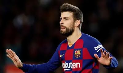 نادي برشلونة: رسالة أمل من برشلونه الى جيرارد بيكيه