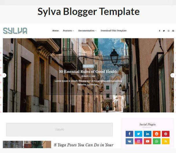 Theme Sylva Template